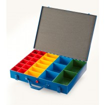 Allit Steel Organiser Case with 4 Insert Sizes