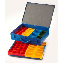 Allit Steel Organiser Case with Double Tray