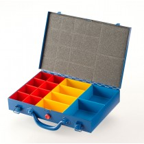 Allit Steel Organiser Case with 3 Sizes of Insert