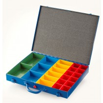 Allit Steel Organiser Case with 4 Sizes of insert