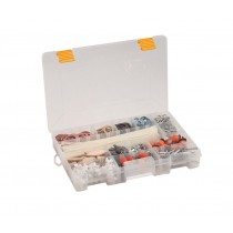 Plastic Organiser Box with 4-19 Compartments