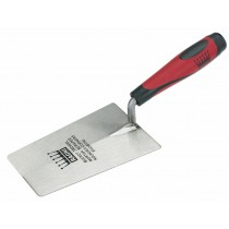 """6.5"""" Stainless Steel Bucket Trowel with Tapered Blade"""