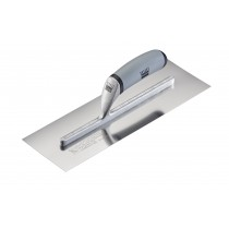 "Feather Edge 14"" Hi-Lift Stainless Finishing Trowel"