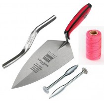 Ragni Solid Forged Brick Trowel Kit