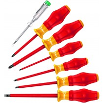 Kraftform Comfort Screwdriver Set Slotted and Pozi